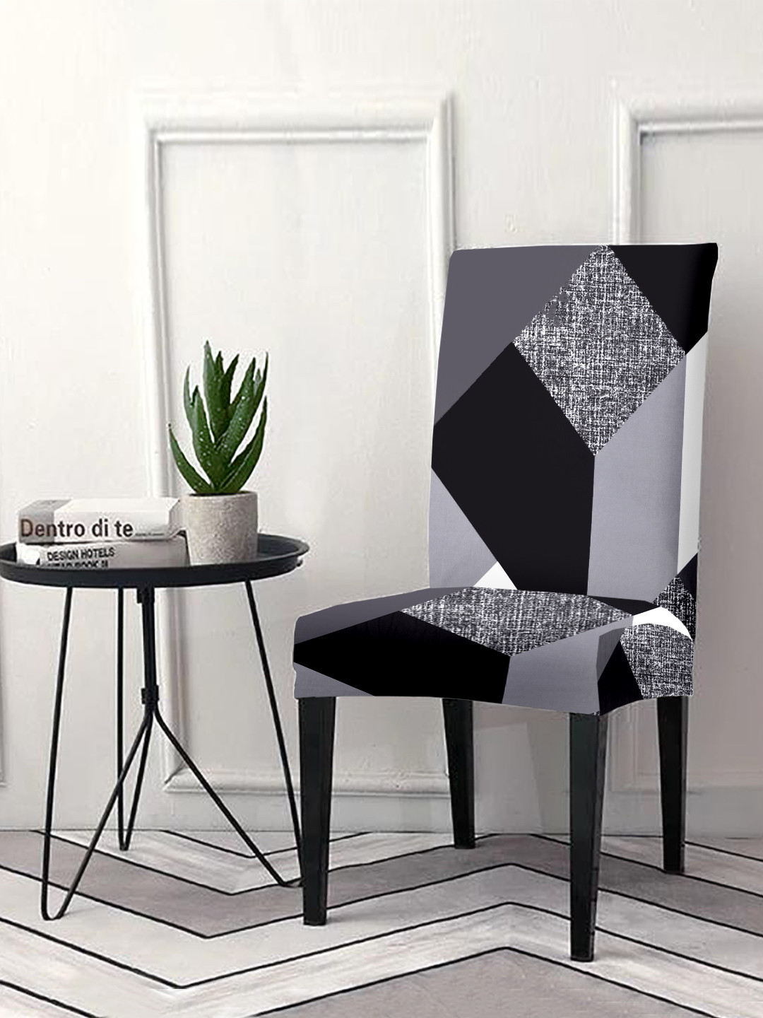 Cortina Stretch Spandex Dining Chair Covers for Dining Room